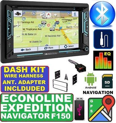 Used, F150 NAVIGATOR EXPEDITION ECONOLINE VAN NAVIGATION Bluetooth CD Car Stereo Radio for sale  Bradenton