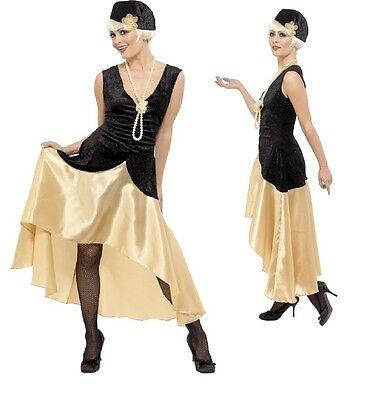 sby Girl Flapper Fancy Dress Costume Outfit 16-22 Plus Size (Plus Size Flapper Girl Kostüm)