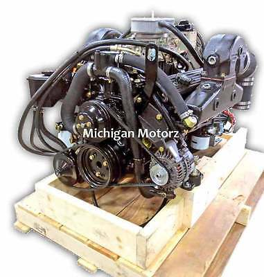 Michigan Motorz 5.7L Complete Engine Package, 1979-1989 OMC Applications