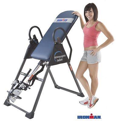 High Capacity Inversion Table Upside Down Machine IronMan Best Folding 4000