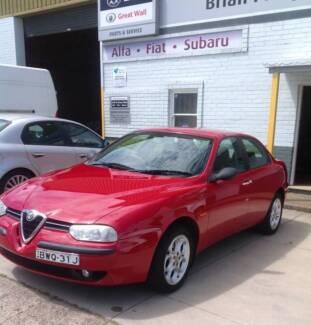 1999 Alfa Romeo 156 Twin Spark 2.0 Manual
