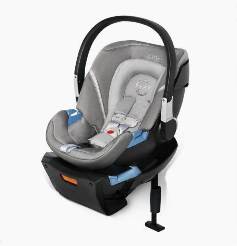 Cybex Gold Aton 2  SensorSafe Infant Car Seat and Load Leg Base | Manhattan Grey