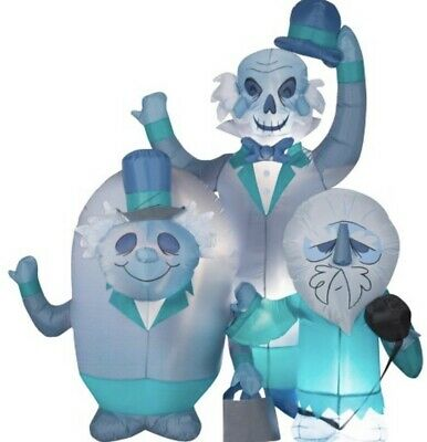 Gemmy Haunted Mansion Airblown Inflatable Hitchhiking Ghosts 6 FT Ready To Ship