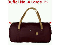 Fjallraven No4 Duffel Bag Brand New