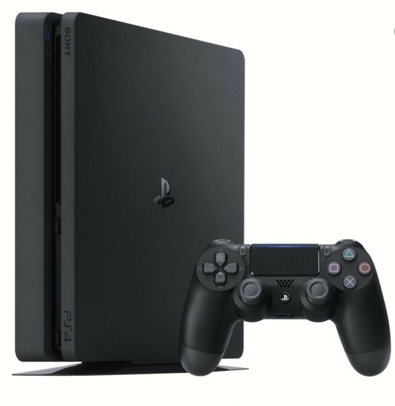 Sony+PlayStation+4+Slim+500GB+Console+-+Matte+Black