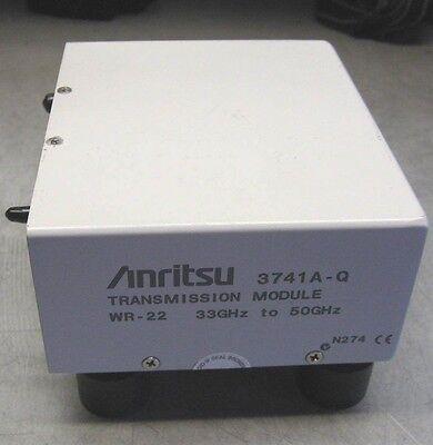 Anritsu 3741a-q Transmission Module Q Band 33-50ghz Wr-22