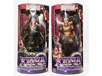 BNIB a collection of Xena warrior princess merchandise.
