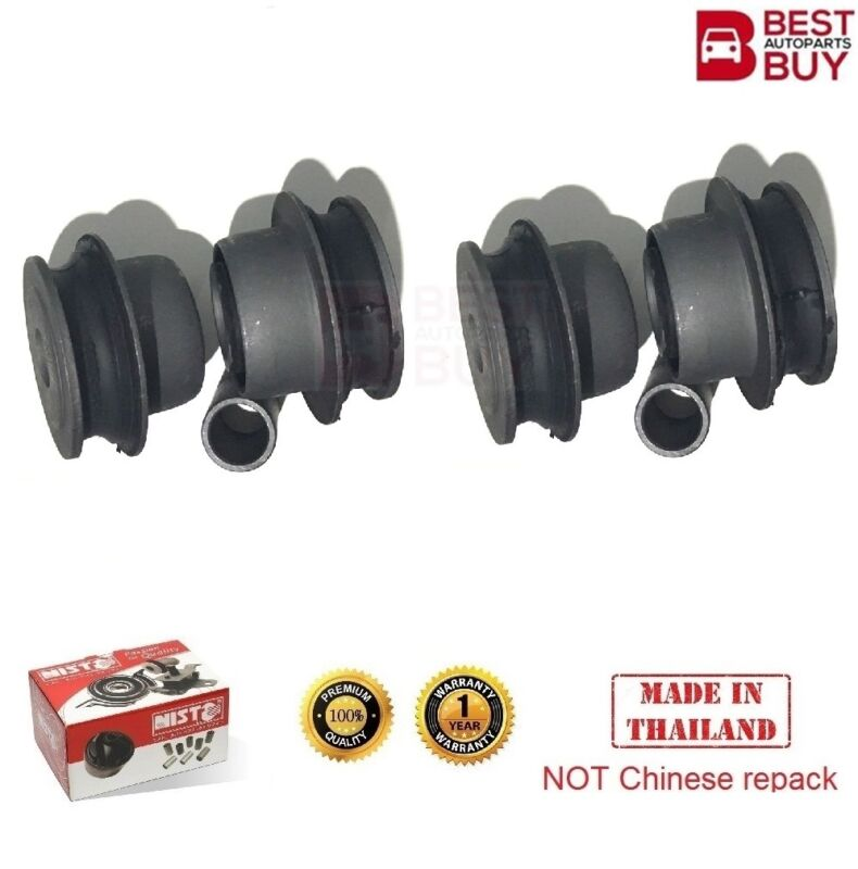 4 Front Lower Control Arm Wishbone Track Small Bushing For 2001-2006 Lexus LS430