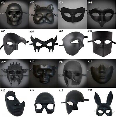 Diy Masque Halloween (DIY Superhero Costume Mask Venetian Black Blank Halloween Masquerade)