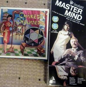 Two Retro board games. MASTER MIND and CHINESE CHEQUERS Largs Bay Port Adelaide Area Preview