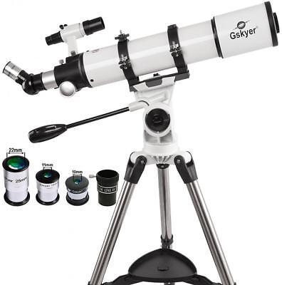 Gskyer Telescope, 600x90mm AZ Astronomical Refractor German Technology Elbow-room