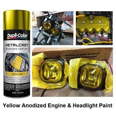 Yellow Anodized Gloss Coating High Heat Engine Brake Caliper Headlight Paint
