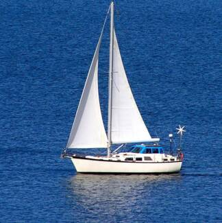 MOTOR SAILER YACHT built by COOPER Vancouver CANADA