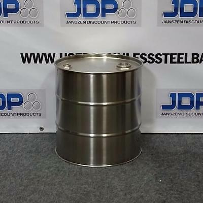 10 Gallon Stainless Steel Closed Top Drum Moonshine Barrel
