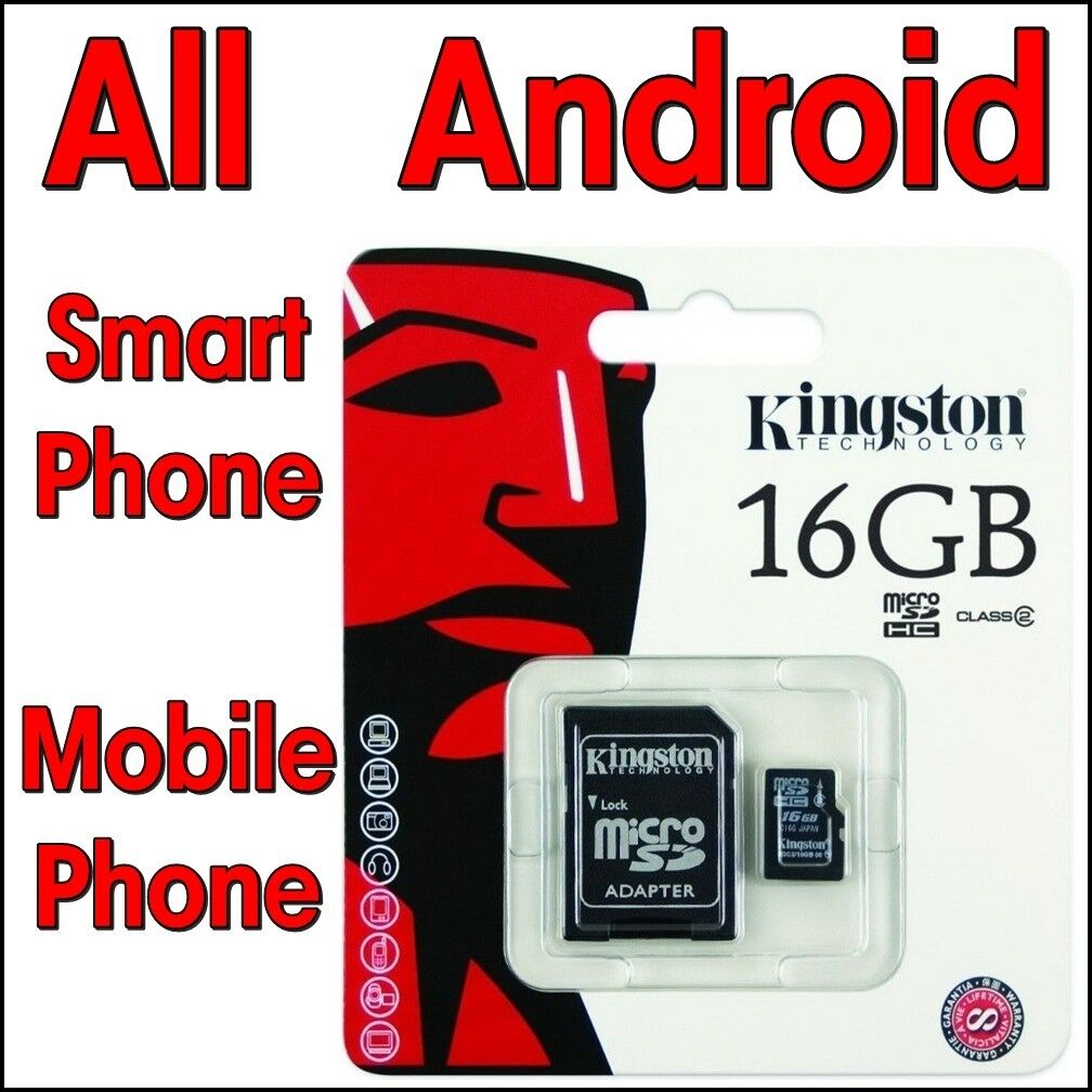 4 Micro SDHC Memory Card 16gb For Smart Phone Mobile Phone Tablet Samsung Galaxy S4 S5 Note4 Note 3