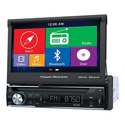 Power Acoustik PDN-726B Single Din AM/FM/DVD & Bluetooth 7