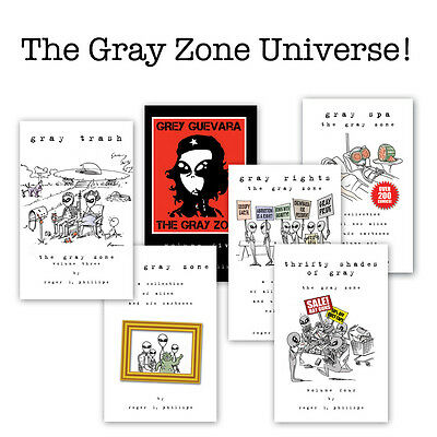 The Gray Zone comic Universe - Entire collection of 6 Books