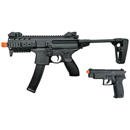 SIG Sauer SIG AIR MPX / P226 Airsoft Spring Powered PDW & Pistol Kit Black