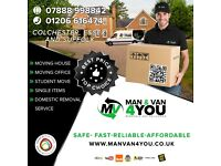 Man and van 4 you. Removals. The best price. Helpful driver. 07888998842