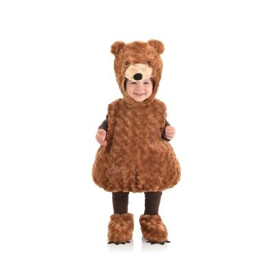 Underwraps Belly Babies Teddy Bear Brown Plush Costume Baby Toddler Child Size
