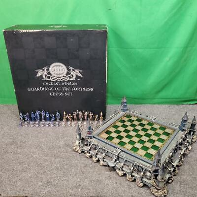 Franklin Mint Michael Whelan Guardians Of The Fortress Chess Set (SS2065727)