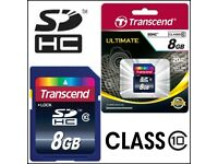 3 x 8GB SDHC Memory Card Nikon Coolpix Samsung Canon EOS 700D 650D 70D DSLR Digital Camera