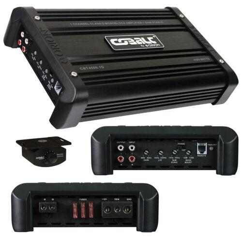 Orion Monoblock Amplifier, 2300W RMS/4500W MAX CBT45001D