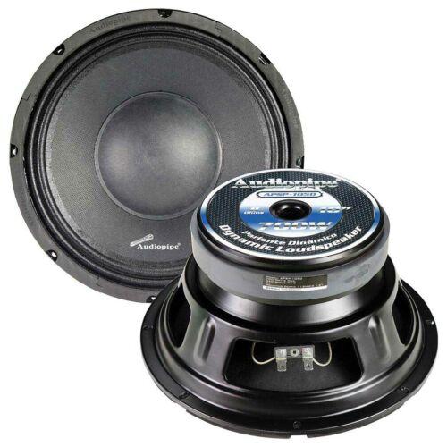 """2 - Audiopipe APSP1050 10"""" Dynamic Loudspeaker, 700 Watts Max BRAND NEW! PAIR"""