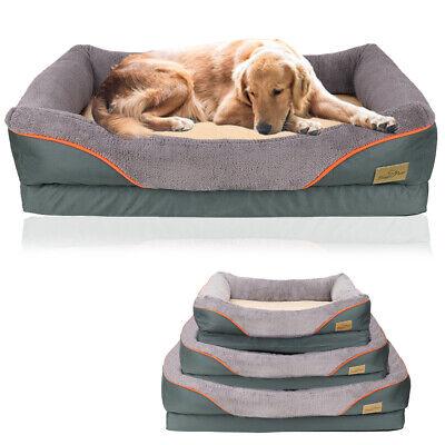 Jumbo Orthopedic Dog Bed Extra Large Thicken Form Faux Fur XL Waterproof Pet (Waterproof Orthopedic Bed)