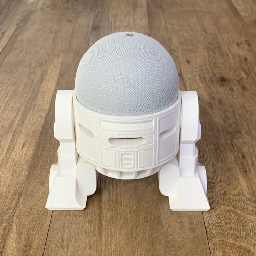 R2D2 Droid Stand For Echo Dot 4 (4th Gen) Fast Shipping