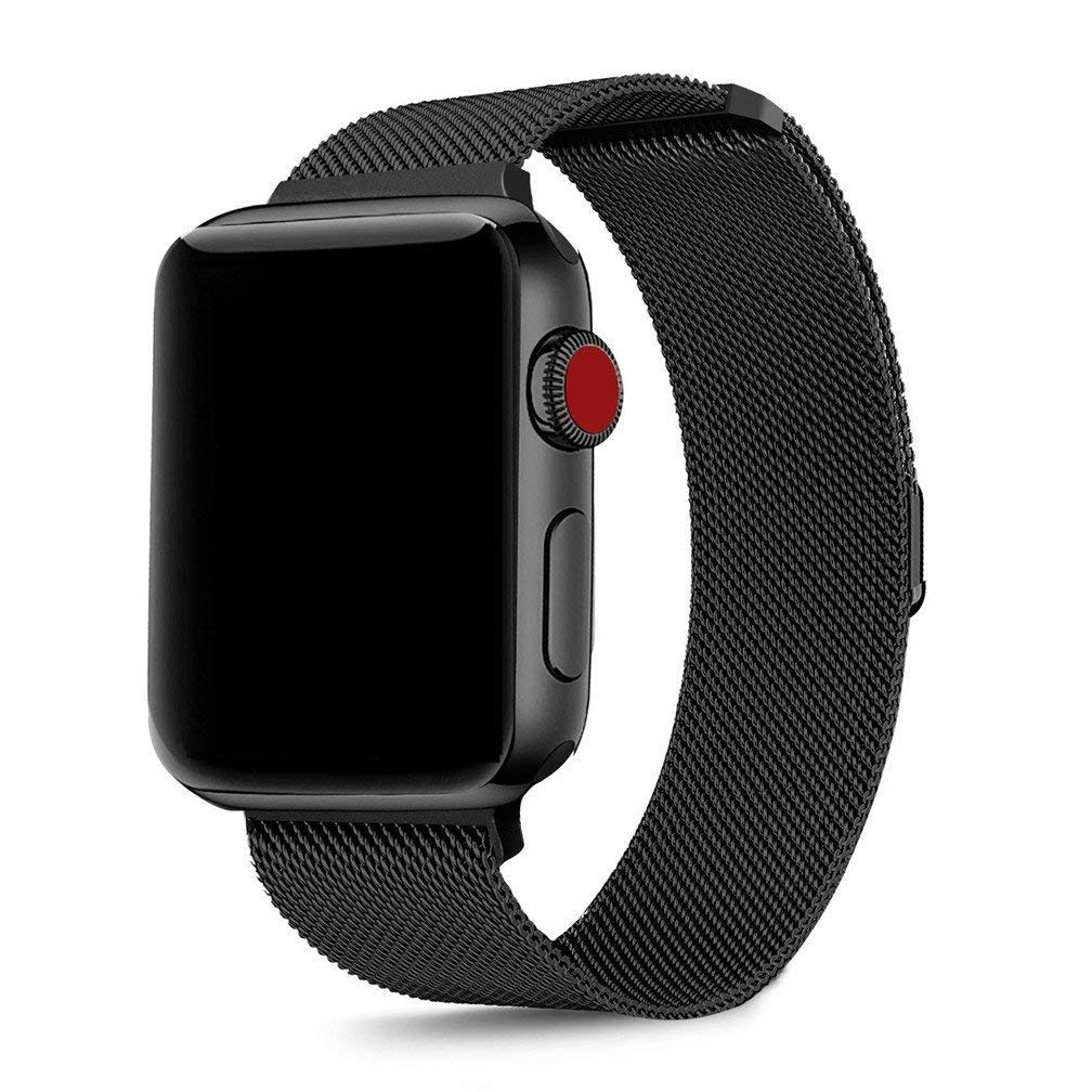 Stainless Steel Metal Band Strap Bracelet For Apple iWatch Series 4 44mm Jewelry & Watches