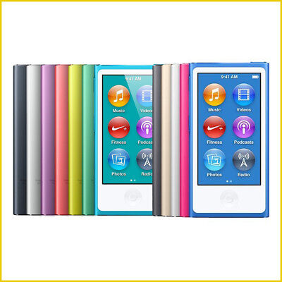 New  Apple Ipod Nano 7Th Or 8Th Generation 16Gb  Choose Your Color  Warranty