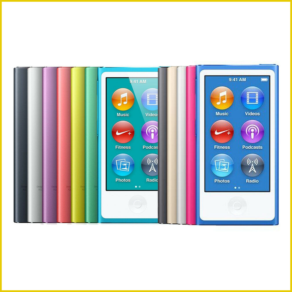 Ipod - New! Apple iPod Nano 7th or 8th Generation 16GB (Choose Your Color) Warranty!