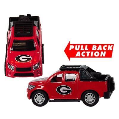 Georgia Bulldogs Toy Pullback Truck [NEW] NCAA Car Track Plastic ()
