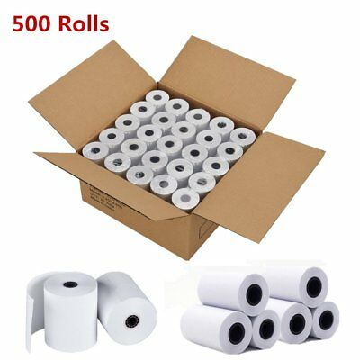 500 Rolls 2 14 X 50 Cash Register Credit Card Thermal Paper Pos Receipt Us