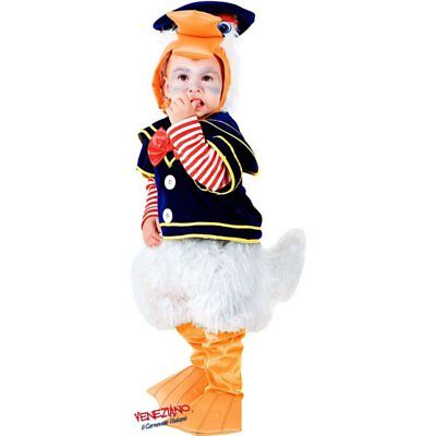 Deluxe Baby Duck Costume Toddler Child Donald Bird Quack Quack Sz 2T (Donald Duck Child Costume)