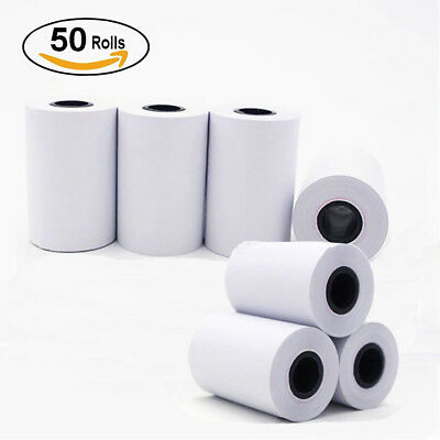 50 Rolls 2 14 X 50 Thermal Cash Register Credit Card Paper Pos Receipt Us