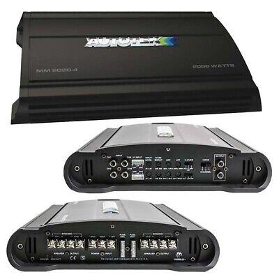 Autotek MM20204 Mean Machine Amplifier 2000 Watts 4 Channel