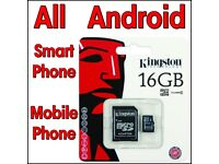 4 x 16gb Micro sd Card Smart Phone Samsung Galaxy J1 J3 J5 J7 S4 S5 S6 S7 S8 Note4 Note6 Note8