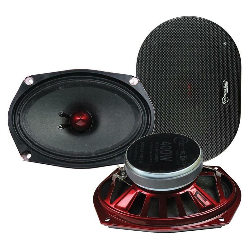 American Bass *godfather6.9* Godfather 6x9 Midrange Speaker 400w Max