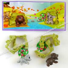 Surprise Eggs Toy EN467B ~ KINDER Joy EN467C set of 2 FIGHTERs