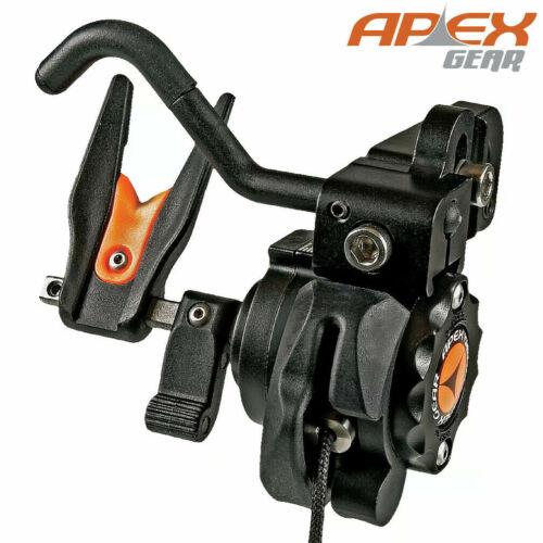 TRUGLO AG745B Apex Micro Covert Rest Sporting Optics, Black Right Hand