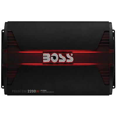 Boss Phantom Pt2200 Car Amplifier - 2200 W Pmpo - 2 Channel - Class Ab - Phantom 2 Channel