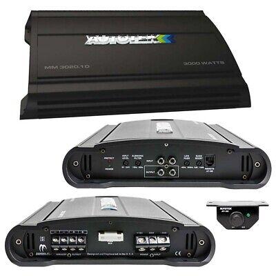 Autotek MM30201D Mean Machine Amplifier 3000 Watts Class D