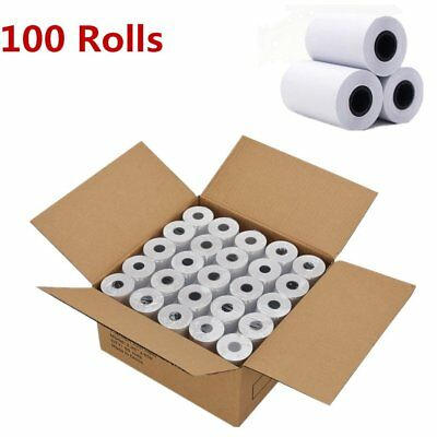 100 Rolls 2 14 X 50 Cash Register Credit Card Thermal Paper Pos Receipt Us