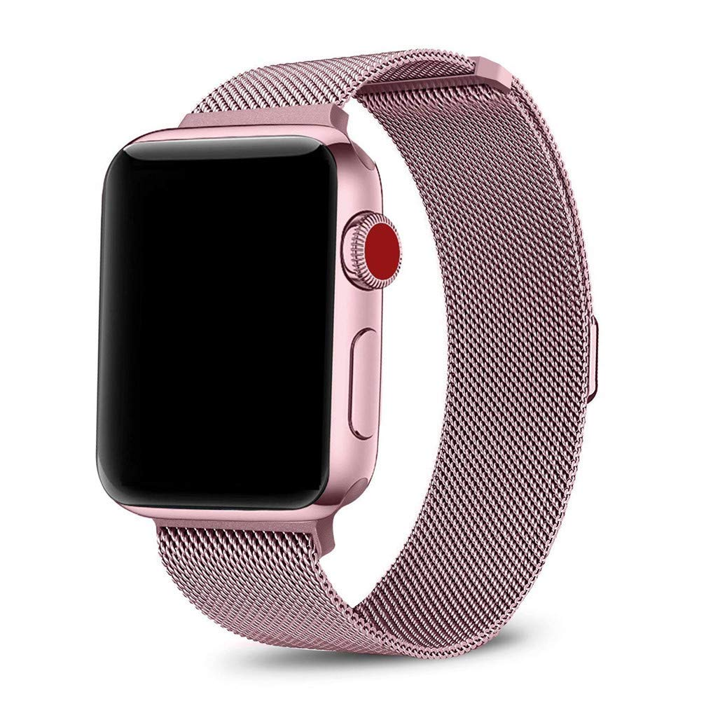 Stainless Steel Metal Band Bracelet For NEW Apple Watch Series 4 40mm Rose Gold Jewelry & Watches