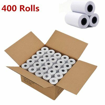 400 Rolls 2 14 X 50 Cash Register Credit Card Pos Receipt Thermal Paper Lot