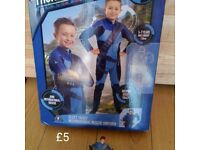 Thunderbirds fancy dress costume outfit (age 5-7)