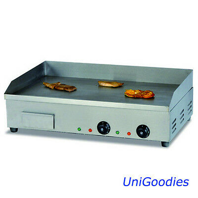 Griddle Grill Machine Warmer Electric Small Stainless Commercial Restaurant