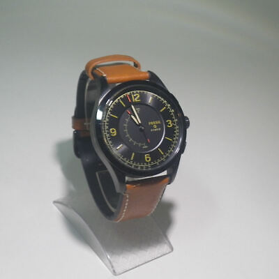 FOSSIL Hybrid Smartwatch - Model: FTW1206 - Activist Luggage Leather Q